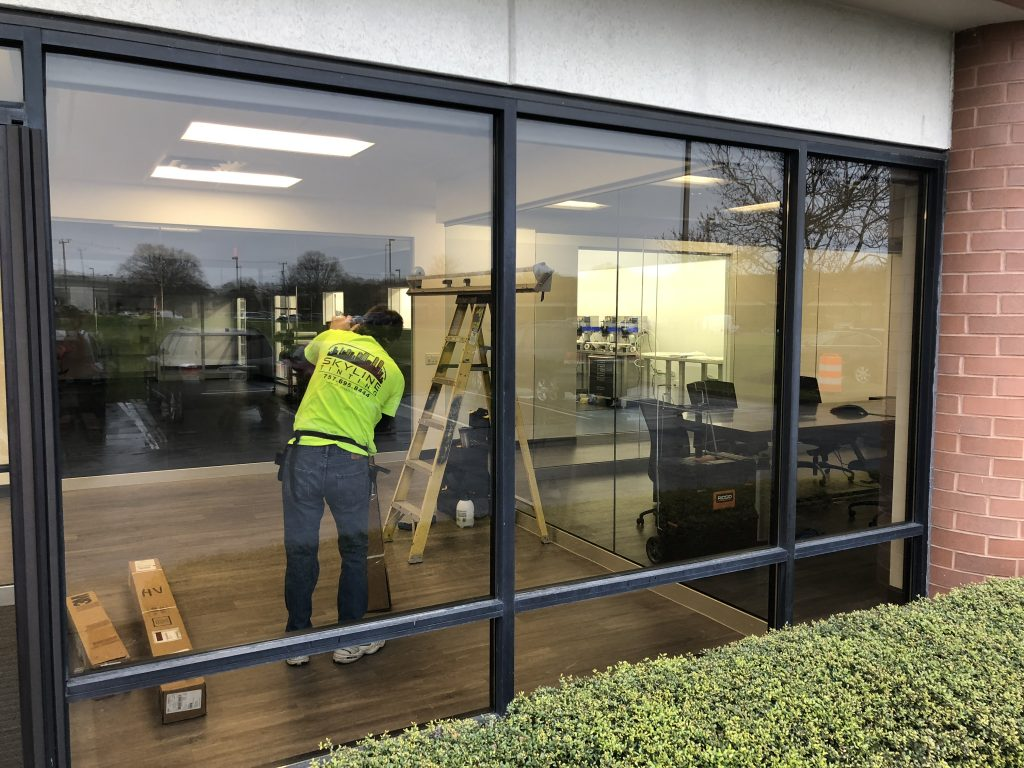 Instant Systems in Norfolk, VA Gains Comfort & Privacy with Window Film 3